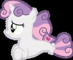 Worried Sweetie Belle seapony