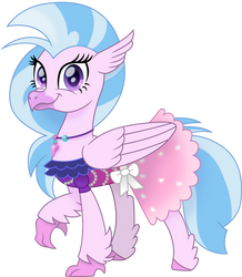 Formal Silverstream by CloudyGlow
