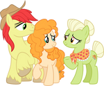 Granny Smith accepts Pear Butter  by CloudyGlow