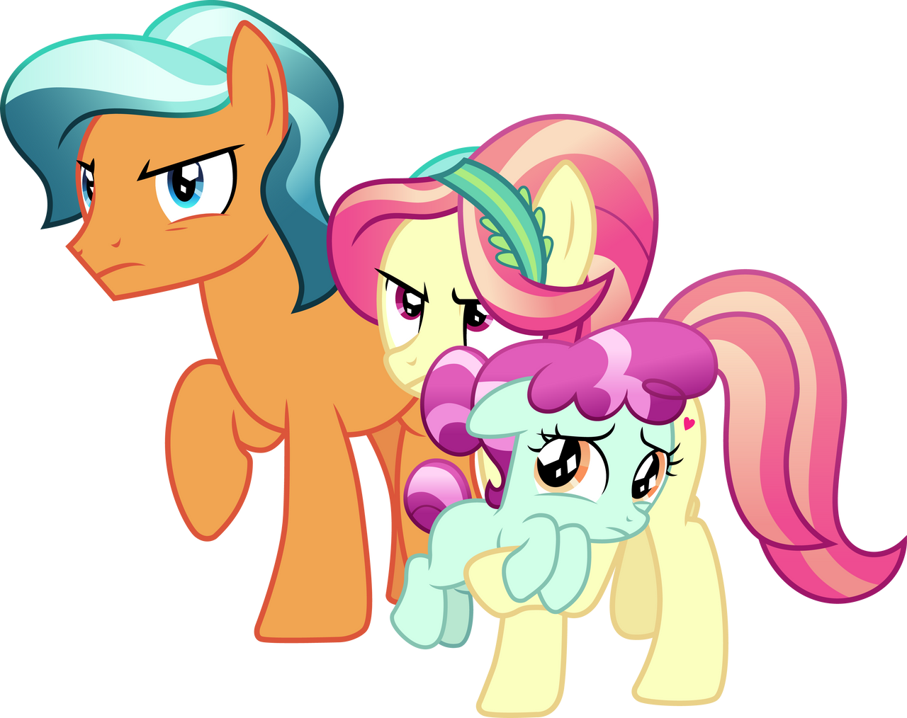 Protective Pony Parents