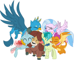 Young Six group hug