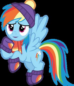Winter Rainbow Dash