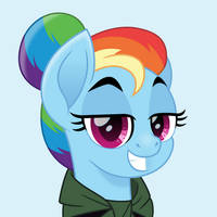Rainbow Dash Mulan