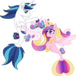 Royal family seaponies