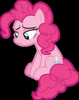 Pinkie Pie in the corner