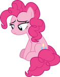Pinkie Pie in the corner by CloudyGlow