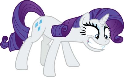 Rarity unstable by CloudyGlow