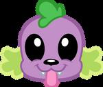 Spike the dog emoji