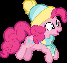 Winter Pinkie Pie by CloudyGlow