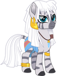 Zecora as Kida by CloudyGlow