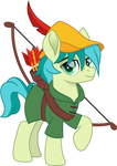 Sandbar as Robin Hood by CloudyGlow