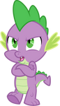 Serious Spike by CloudyGlow
