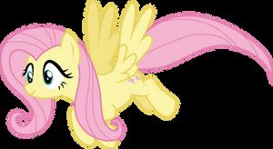 Lovely flying Fluttershy