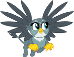 Gabby flying by CloudyGlow