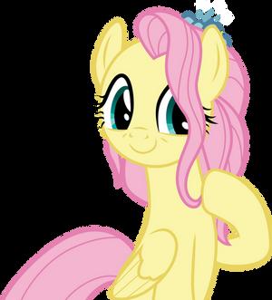 Happy Older Fluttershy