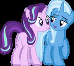 Starlight Glimmer and Trixie 2
