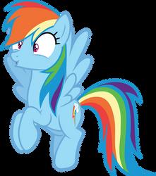 Rainbow Dash has an idea by CloudyGlow