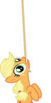 Hang in there Applejack