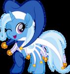 Blue Water Jester Trixie