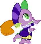 Hearth's Warming pageant Spike