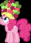 Pinkie Pie in a fruit hat