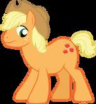 fake Applejack stallion by CloudyGlow
