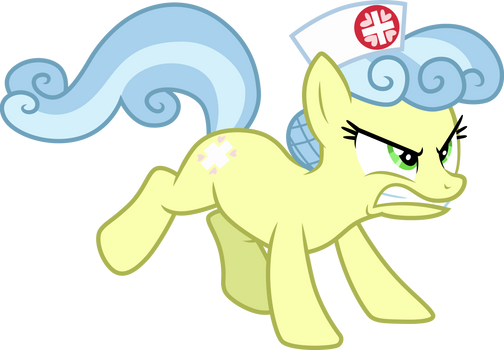 Nurse Snowheart ready to fight