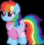 Rainbow Dash as Maid Marian