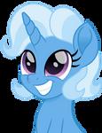 Trixie portrait short mane by CloudyGlow