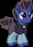 Gus Porter pony school by CloudyGlow