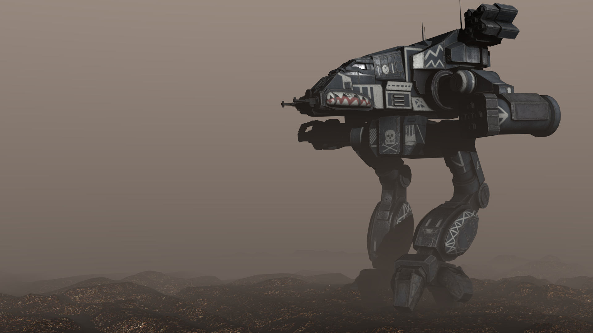 Battletech - Bushwacker Battlemech - 1 by Shunuke