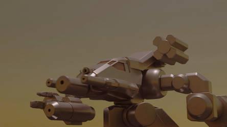 Wip model- Bushwacker