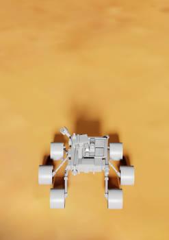 Random Render - Martian rover