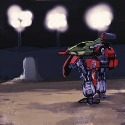 Battletech- at the Solaris VII Arena (speed art)