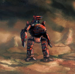 Battletech - Lost in the caldera