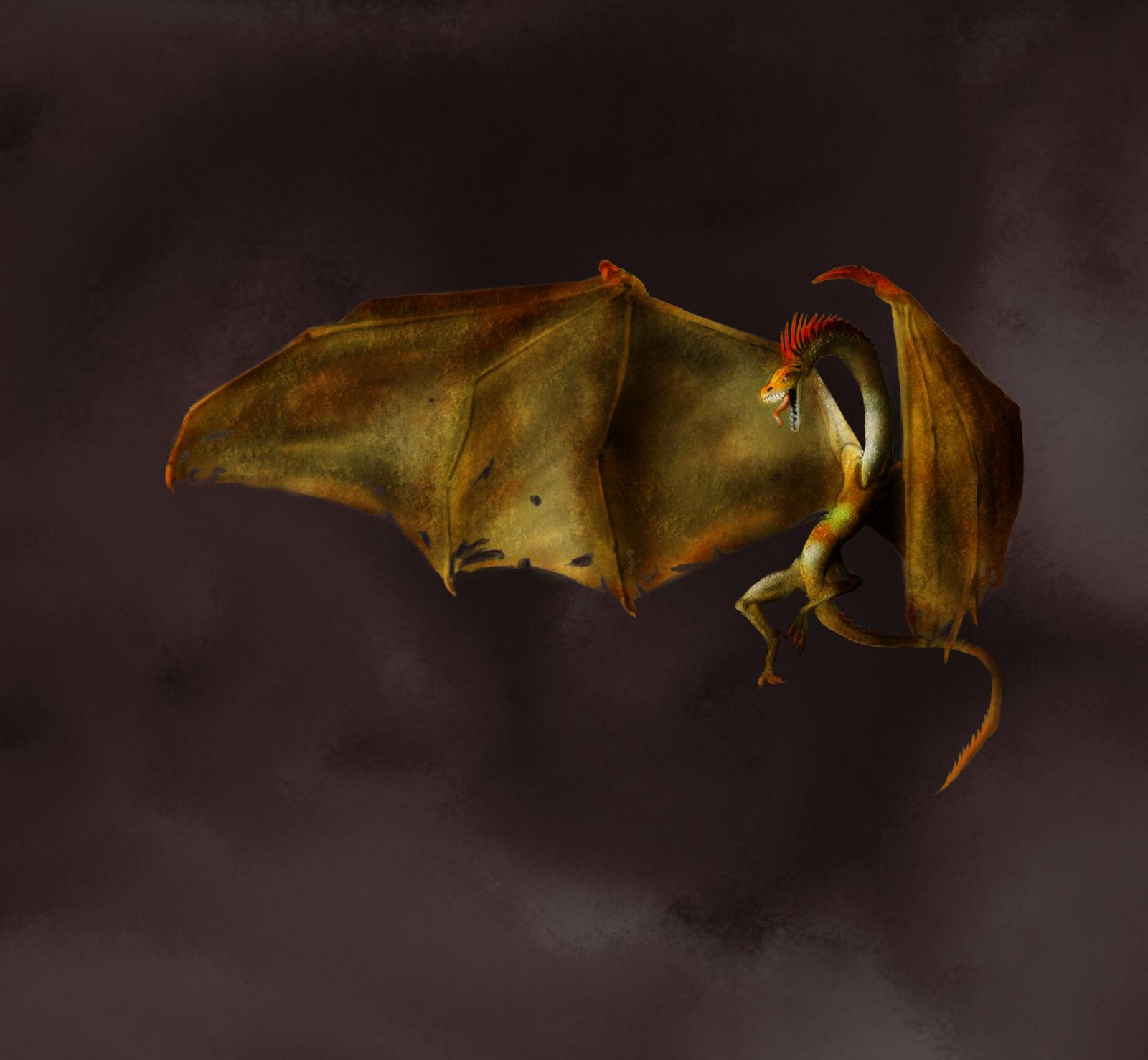 Random Painting - Dragon