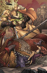 Dragons Crown by wantedwaifus