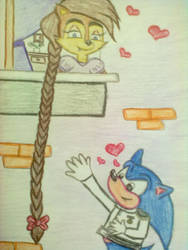 Oh Sally Rapunzel by babirox753