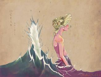 Ocean Spirit by Killua-Zoldick