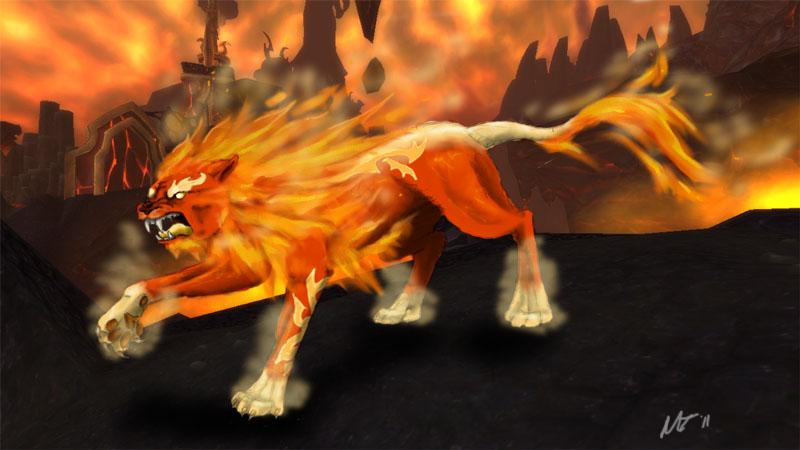 Druid of the Flame by RakuraiWolf on DeviantArt