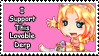G: SkittleBittle Support Stamp by LightningStrike83