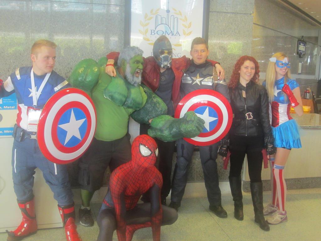 Star-Lord Team-Up: The Avengers by LightningStrike83