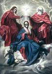 Coronation of the dead Virgin