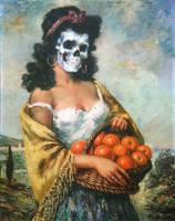 Orangenmaedchen by sangmeister