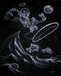 Surfer Moon