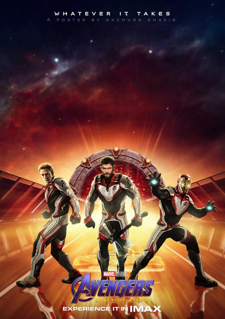 Avengers Endgame Poster By Nazmussshakib3 On Deviantart