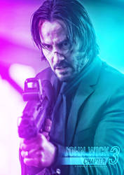 john wick chapter 3 Parabellum fanmade poster by NazmussShakib3