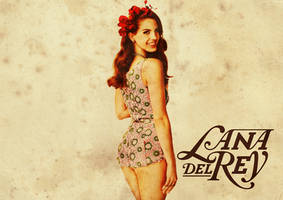 Lana Del Rey Wallpaper v.2 by Mannnequiin