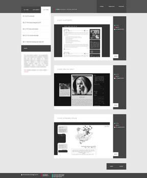 Blogspot template New look