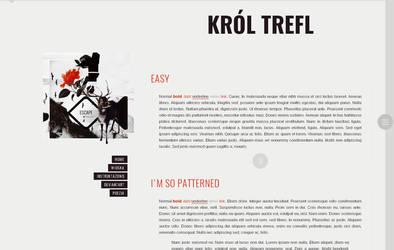 Blogspot template Krol Trefl